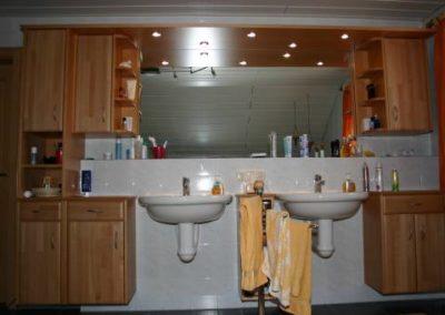 Badezimmereinrichtung vom Schreiner